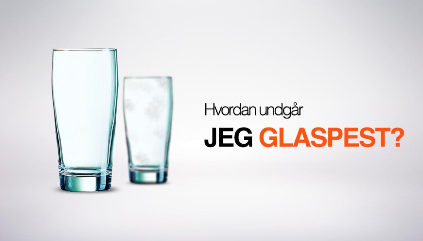 fjernelse af glaspest