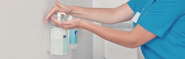 Desinfektion rengøring