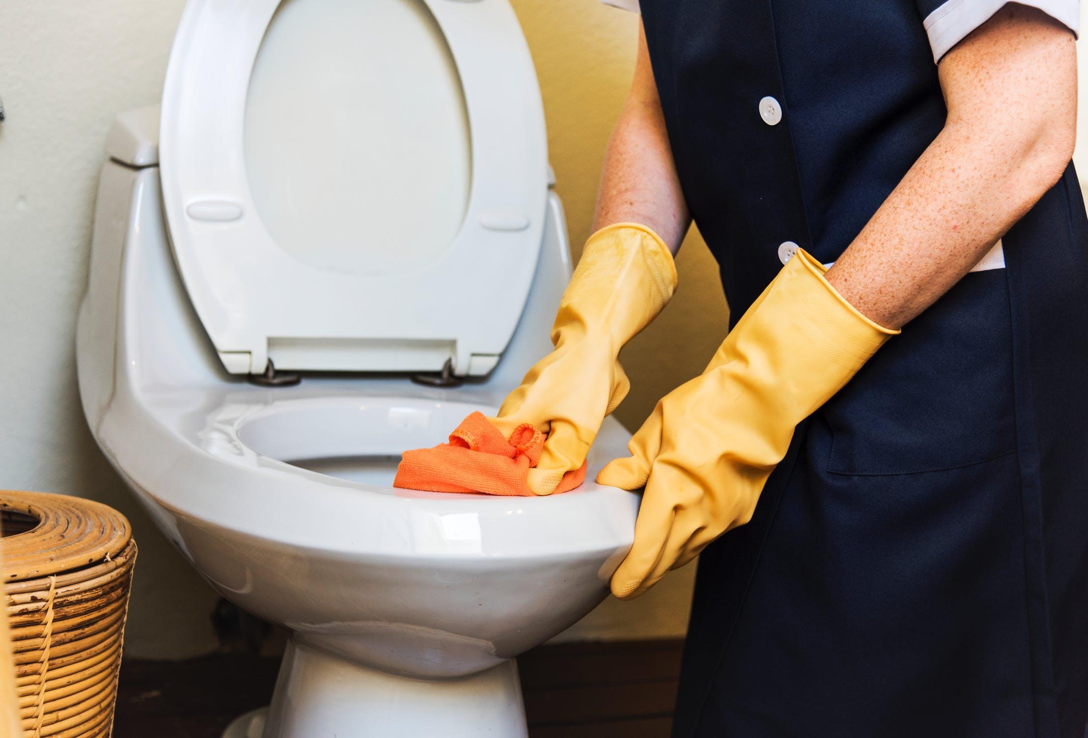kalksten i toilet