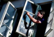 billig vinduespudsermaskine