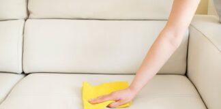 rengøring af sofa