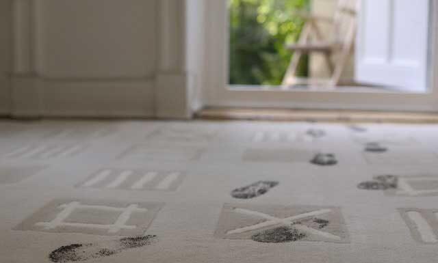 rengøring af tæppe