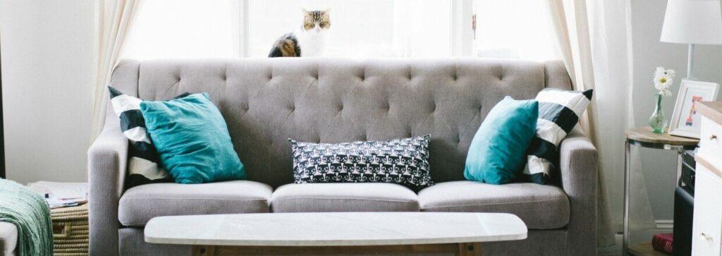 sofa rengøring