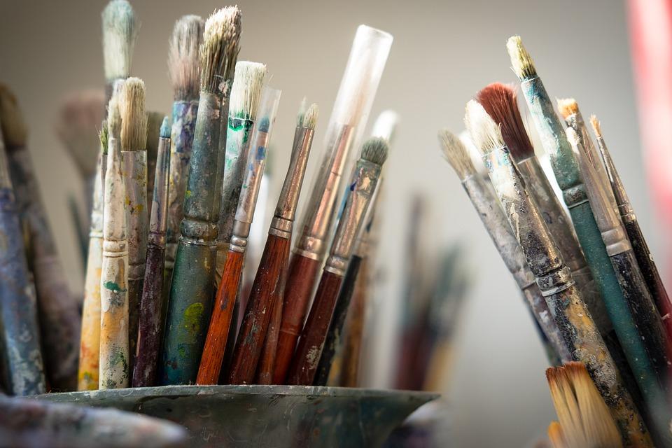 sådan renser du dine pensler efter malerarbejde